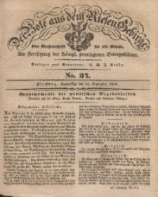 Der Bote aus dem Riesen-Gebirge, 1839, Jg. 27, No. 37