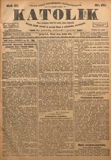 Katolik, 1904, R. 37, nr 151