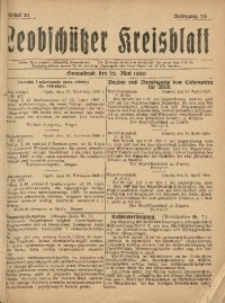 Leobschützer Kreisblatt, 1920, Jg. 78, St. 21