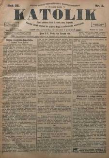 Katolik, 1905, R. 38, nr 3