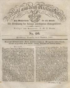 Der Bote aus dem Riesen-Gebirge, 1841, Jg. 29, No. 36