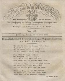 Der Bote aus dem Riesen-Gebirge, 1841, Jg. 29, No. 41