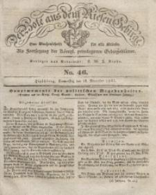 Der Bote aus dem Riesen-Gebirge, 1841, Jg. 29, No. 46