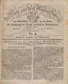 Der Bote aus dem Riesen-Gebirge, 1842, Jg. 30, No. 4