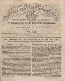 Der Bote aus dem Riesen-Gebirge, 1842, Jg. 30, No. 12