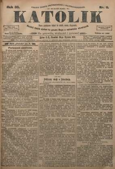 Katolik, 1905, R. 38, nr 11