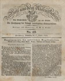 Der Bote aus dem Riesen-Gebirge, 1842, Jg. 30, No. 43