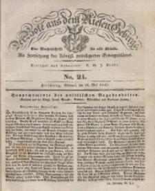 Der Bote aus dem Riesen-Gebirge, 1843, Jg. 31, No. 21