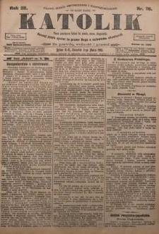 Katolik, 1905, R. 38, nr 26