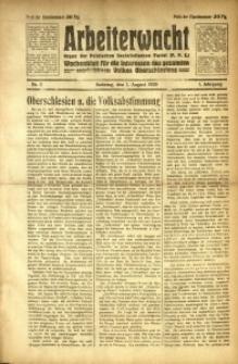 Arbeiterwacht, 1920, Jg. 1, Nr. 2