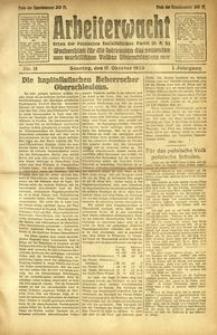 Arbeiterwacht, 1920, Jg. 1, Nr. 13