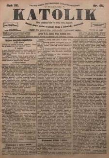 Katolik, 1905, R. 38, nr 45