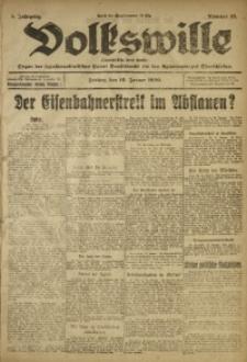 Volkswille, 1920, Jg. 5, Nr. 12