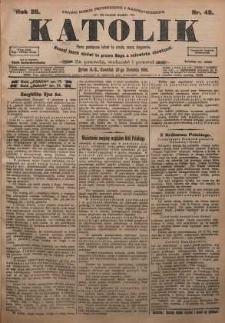 Katolik, 1905, R. 38, nr 49