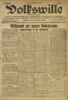 Volkswille, 1920, Jg. 5, Nr. 39