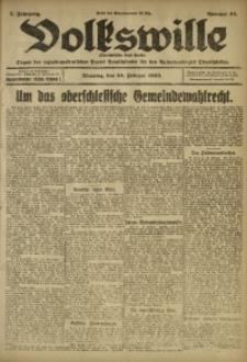 Volkswille, 1920, Jg. 5, Nr. 44