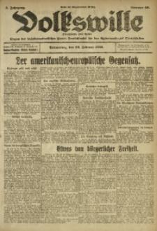 Volkswille, 1920, Jg. 5, Nr. 46