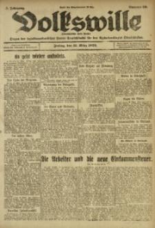 Volkswille, 1920, Jg. 5, Nr. 59