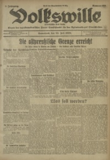 Volkswille, 1920, Jg. 5, Nr. 168