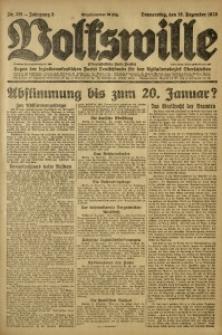 Volkswille, 1920, Jg. 5, Nr. 291
