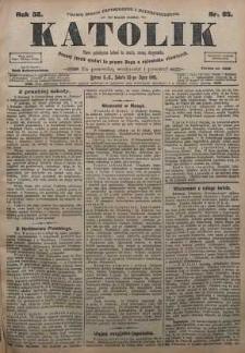 Katolik, 1905, R. 38, nr 85