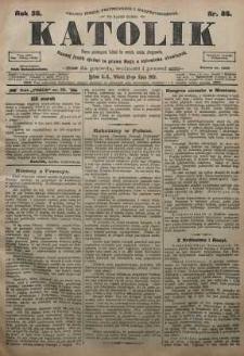 Katolik, 1905, R. 38, nr 86
