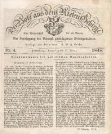Der Bote aus dem Riesen-Gebirge, 1848, Jg. 36, No. 4