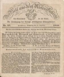 Der Bote aus dem Riesen-Gebirge, 1848, Jg. 36, No. 51