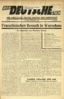Der Deutsche in Polen, 1937, Jg. 4, Nr. 48