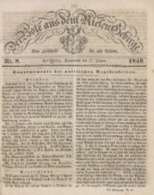 Der Bote aus dem Riesen-Gebirge, 1849, Jg. 37, Nr. 8