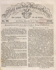 Der Bote aus dem Riesen-Gebirge, 1849, Jg. 37, Nr. 30