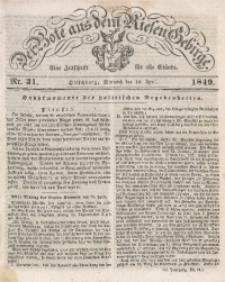 Der Bote aus dem Riesen-Gebirge, 1849, Jg. 37, Nr. 31