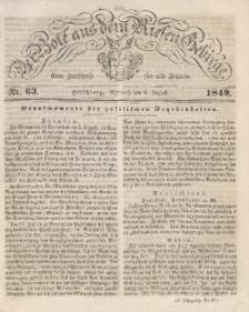 Der Bote aus dem Riesen-Gebirge, 1849, Jg. 37, Nr. 63