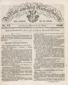 Der Bote aus dem Riesen-Gebirge, 1849, Jg. 37, Nr. 87