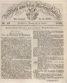 Der Bote aus dem Riesen-Gebirge, 1850 Jg. 38, Nr. 13