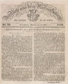 Der Bote aus dem Riesen-Gebirge, 1850 Jg. 38, Nr. 39