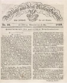 Der Bote aus dem Riesen-Gebirge, 1850 Jg. 38, Nr. 40