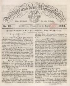 Der Bote aus dem Riesen-Gebirge, 1850 Jg. 38, Nr. 70
