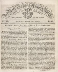 Der Bote aus dem Riesen-Gebirge, 1850 Jg. 38, Nr. 79