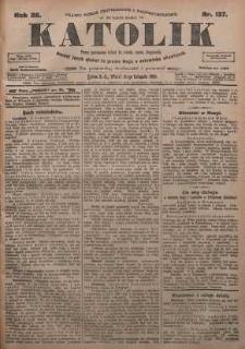 Katolik, 1905, R. 38, nr 137