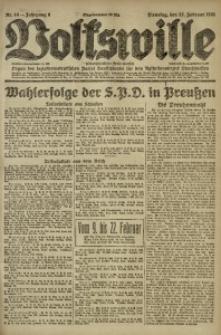 Volkswille, 1921, Jg. 6, Nr. 44