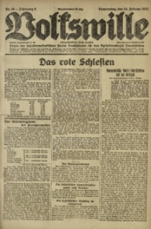 Volkswille, 1921, Jg. 6, Nr. 46