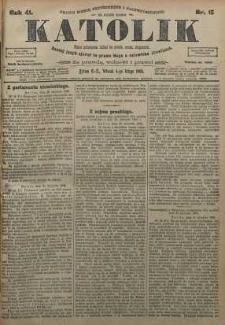 Katolik, 1908, R. 41, nr 15