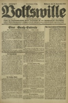 Volkswille, 1921, Jg. 6, Nr. 274