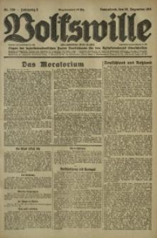 Volkswille, 1921, Jg. 6, Nr. 289