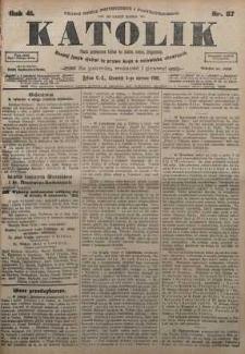 Katolik, 1908, R. 41, nr 67