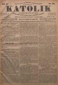 Katolik, 1908, R. 41, nr 156