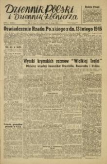 Dziennik Polski i Dziennik Żołnierza, 1945, R. 2, nr 39
