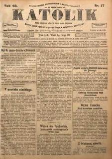 Katolik, 1915, R. 48, nr 17