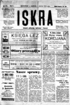 Iskra. Dziennik polityczny, społeczny i literacki, 1919, R. 10, nr 120
